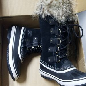Sorel Joan of Arctic Black Stone Women Size 9